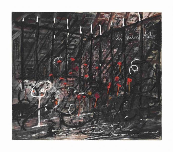 Anselm Kiefer-Des Malers Atelier (The Artist's Studio)-1980