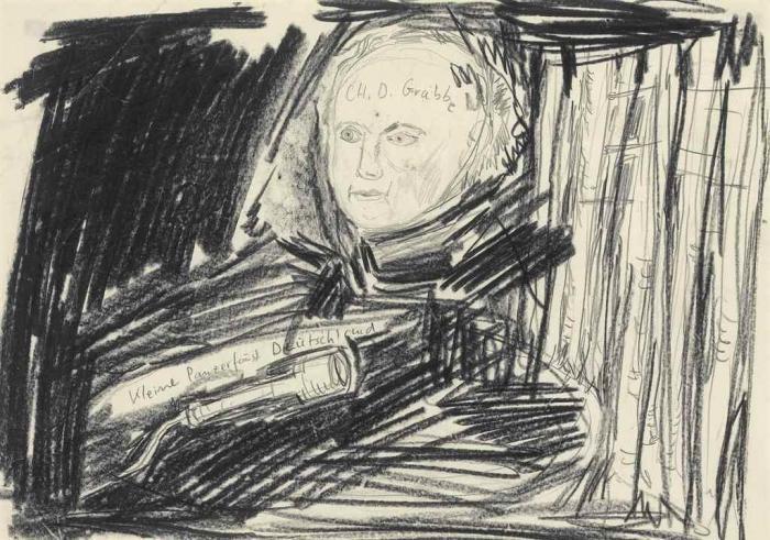 Anselm Kiefer-CH. D. Grabbe - Kleine Panserfaust Deutschland-1978