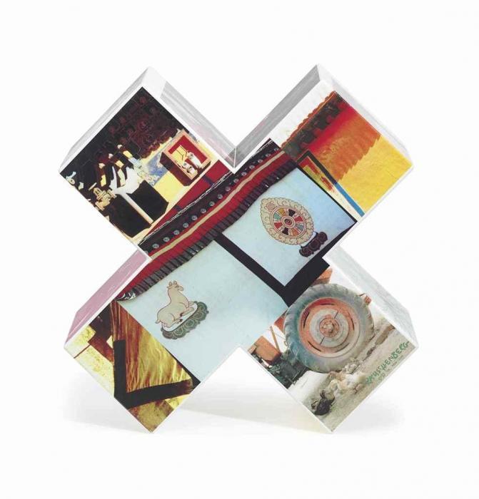 Robert Rauschenberg-Robert Rauschenberg - Tibetan Keys (Centers) (From Tibetan Keys And Locks)-1986