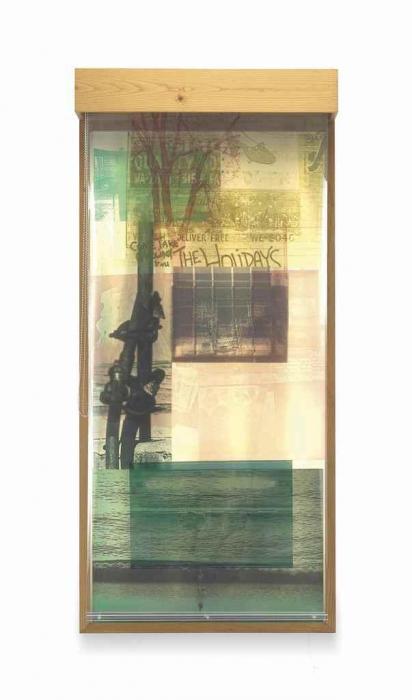 Robert Rauschenberg-Robert Rauschenberg - Sling Shot Lit # 1-1985