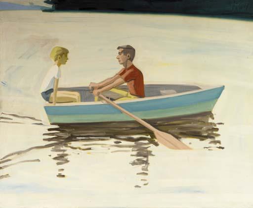 Alex Katz-Rowing-1964