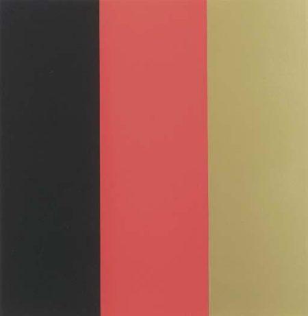 Gerhard Richter-Schwarz, Rot, Gold III (Black, Red, Gold III)-1999