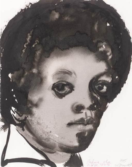 Marlene Dumas-Before the Nose Job-1995
