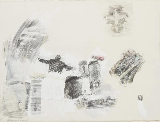 Robert Rauschenberg-Robert Rauschenberg - Apology-1968