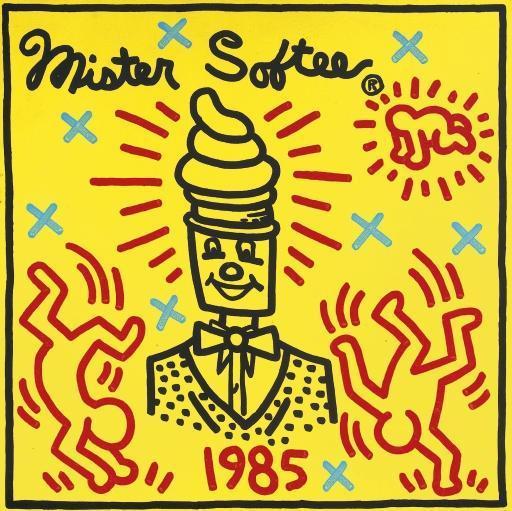 Keith Haring-Keith Haring - Mr Softee-1985