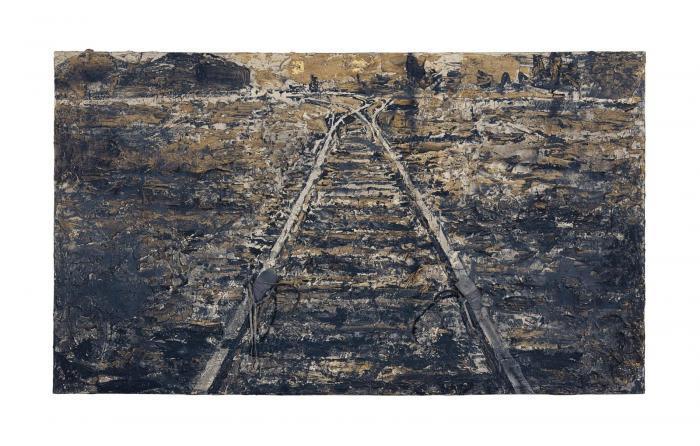 Anselm Kiefer-Eisen-Steig-1986