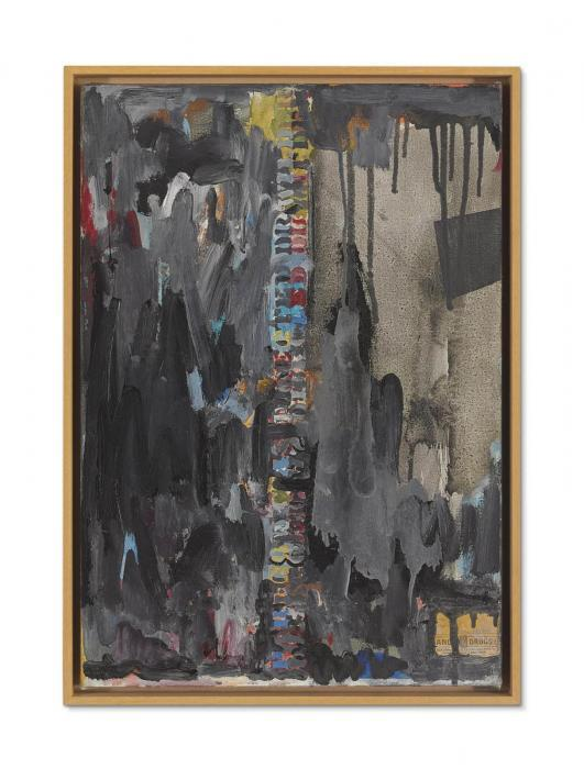 Jasper Johns-Paregoric as Directed Dr. Wilder-1962