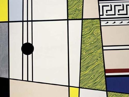 Roy Lichtenstein-Abstraction with Guitar-1975