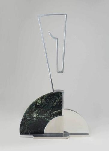 Roy Lichtenstein-Modern Sculpture with Horse Motif-1967