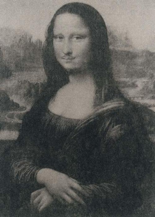 Thomas Ruff-Mona Lisa-1990