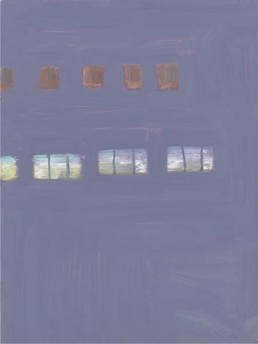 Alex Katz-Violet Light-1996