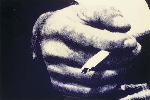 Richard Prince-Man's Hand with Cigarette-1980