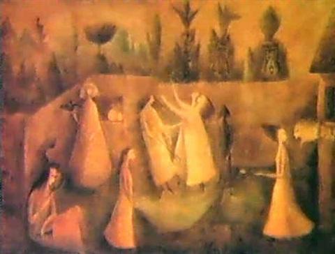 Leonora Carrington-The Hour of The Angelus-1949