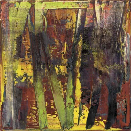 Gerhard Richter-Abstraktes Bild 665-4 (Abstract Painting 665-4)-1988