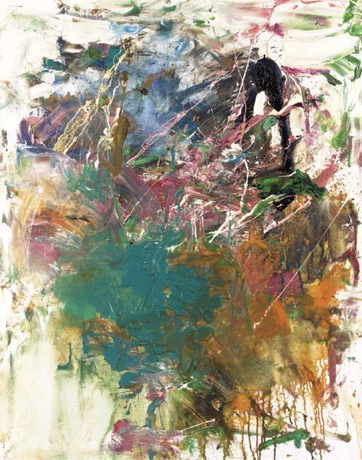 Joan Mitchell-L'ecole buissonniere-1959