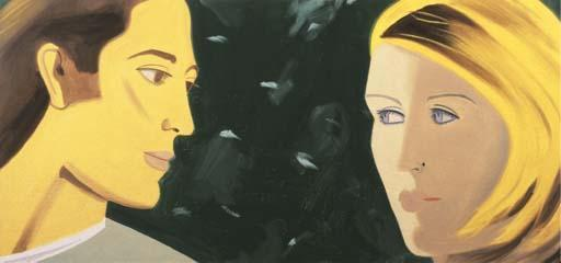 Alex Katz-Couple-1997