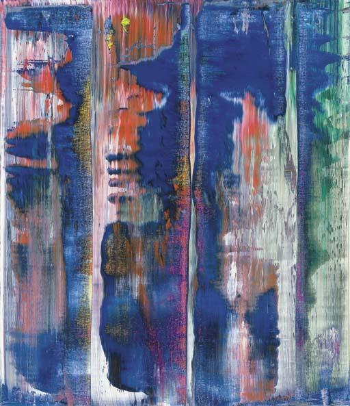 Gerhard Richter-Abstraktes Bild 818-2 (Abstract Painting 818-2)-1994