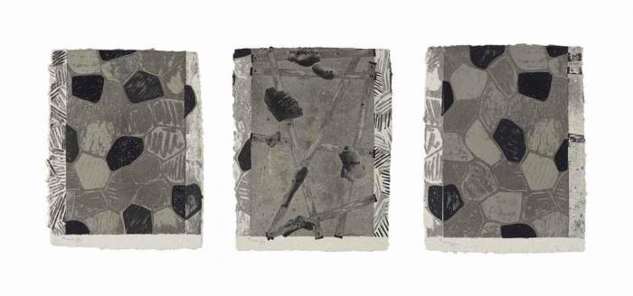 Jasper Johns-Four Panels from Untitled 1972: three prints-1975