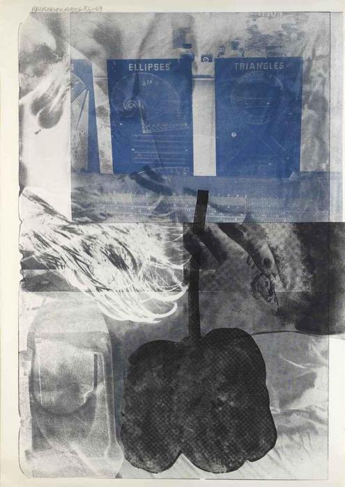 Robert Rauschenberg-Robert Rauschenberg - Drifts-1969