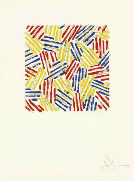 Jasper Johns-Untitled (ULAE 186)-1977