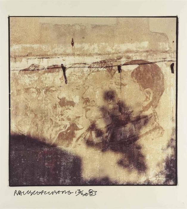 Robert Rauschenberg-Robert Rauschenberg - Untitled (From Studies For Chinese Summerhall)-1983