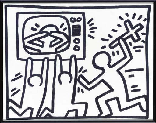 Keith Haring-Keith Haring - Untitled-1982
