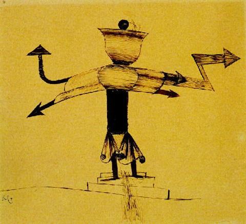 Paul Klee-Glockenmaske-1922