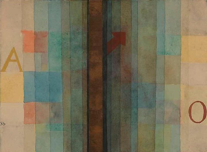 Paul Klee-Ouverture (Overture)-1922