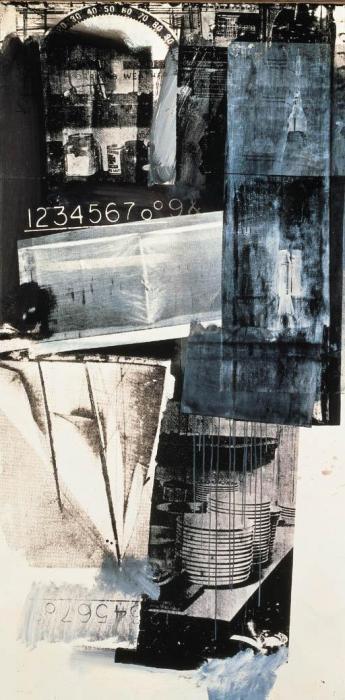 Robert Rauschenberg-Robert Rauschenberg - Dry Run-1963
