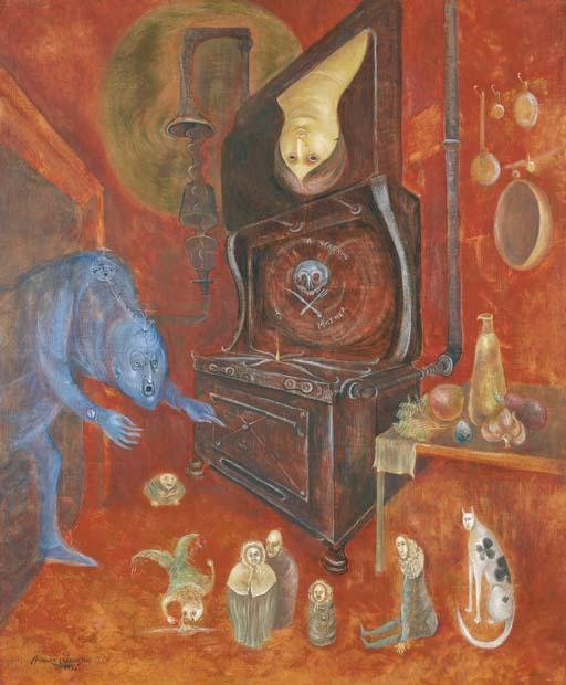 Leonora Carrington-Warning to Mother-1973
