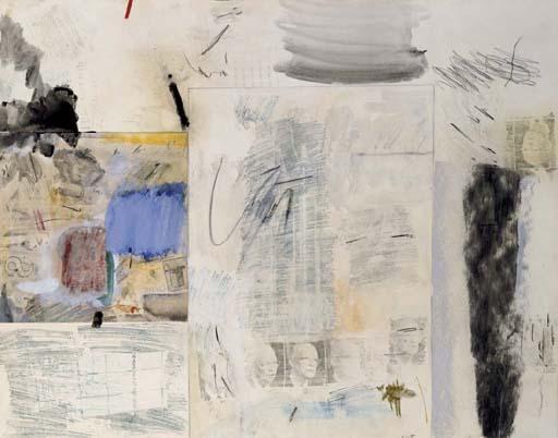 Robert Rauschenberg-Robert Rauschenberg - Untitled-1960