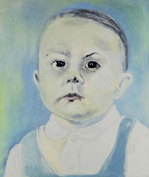Marlene Dumas-Die Baba (The baby)-1985