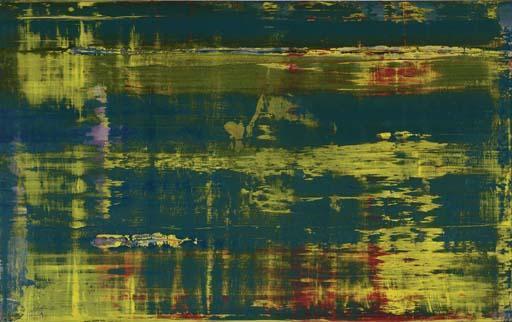 Gerhard Richter-The River-1995