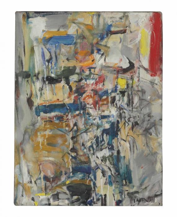 Joan Mitchell-Untitled-1954