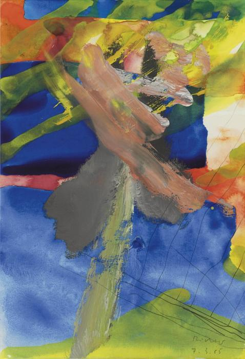 Gerhard Richter-Ohne Titel (7.3.85) / Untitled (7.3.85)-1985