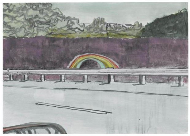 Peter Doig-Country Rock (Tunnel)-1999