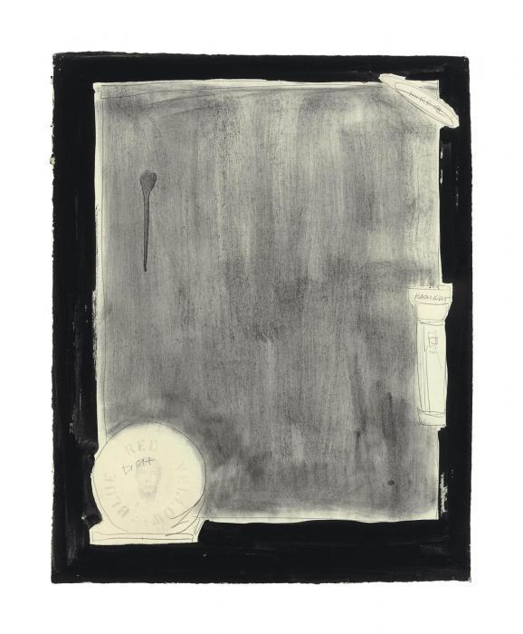 Jasper Johns-Souvenir I-1969