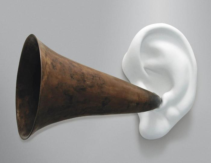 John Baldessari-Beethoven's Trumpet (With Ear) Opus #133-2007