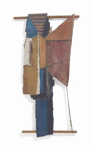 Roy Lichtenstein-Assemblage-1955
