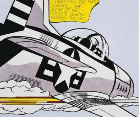 Roy Lichtenstein-WHAAM!; As I Opened Fire Poster-1967