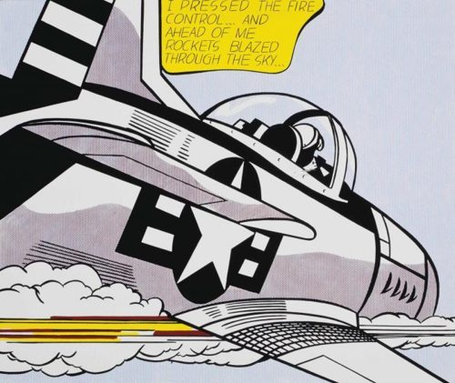 Roy Lichtenstein-WHAAM!; As I Opened Fire Poster-1967
