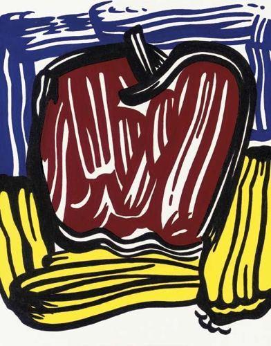 Roy Lichtenstein-Red Apple-1981
