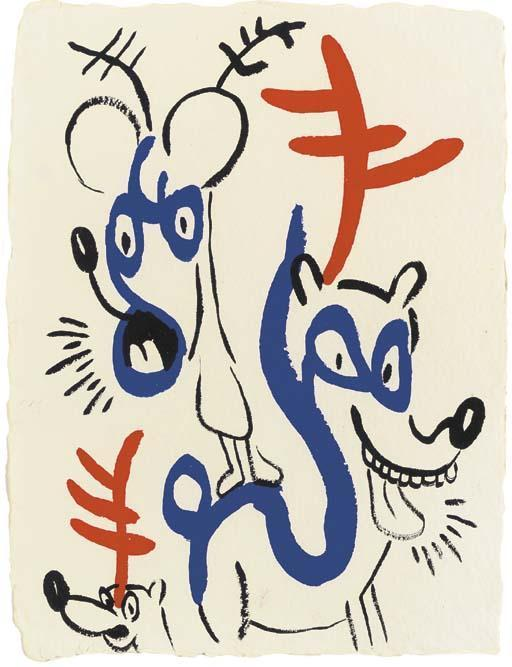 Keith Haring-Keith Haring - Untitled-1986