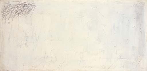 Cy Twombly-Untitled, New York-1956