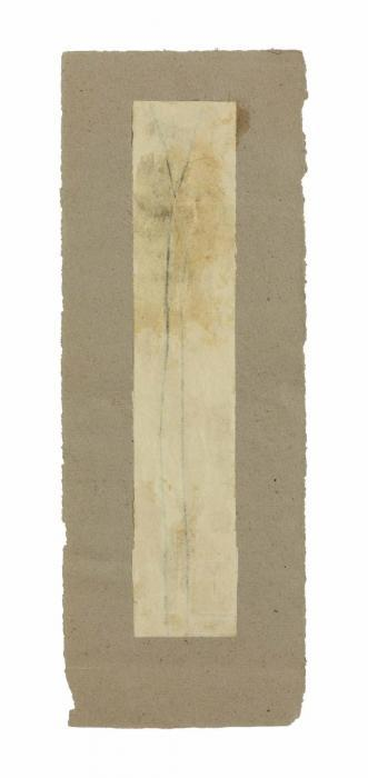 Robert Rauschenberg-Robert Rauschenberg - Untitled (Elongated X-form)-1952