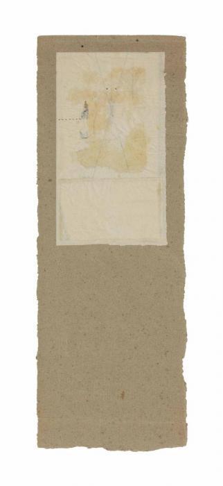 Robert Rauschenberg-Robert Rauschenberg - Untitled (X-form)-1952