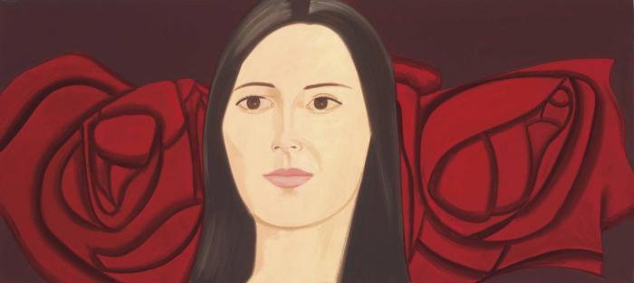 Alex Katz-Lora-2001