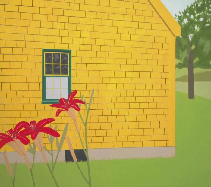 Alex Katz-The Yellow House-1985