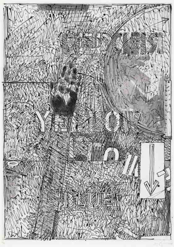Jasper Johns-Land's End II-1979
