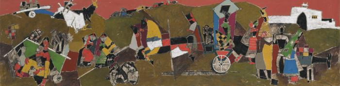 Maqbool Fida Husain-Untitled-1955